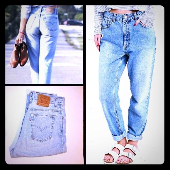 28780ed7 Levi's Jeans | Vintage Levis 550 Tapered Leg Mom High Waist | Poshmark